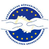 Logo Europäische Bürgerinitiative Bedingungsloses Grundeinkommen