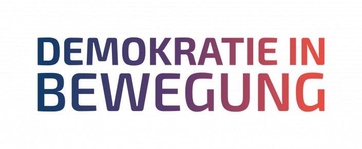 Logo DEMOKRATIE IN BEWEGUNG